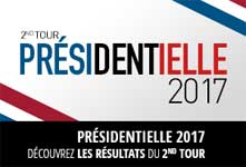 resultats presidentielle 2nd tour